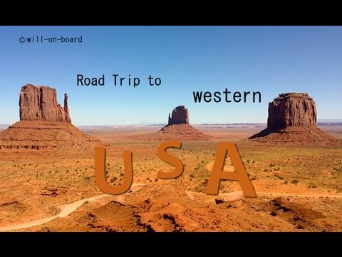 Road trip to western USA (will-on-board, français)
