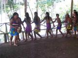 Danses et chants , tribu Embera du Panama